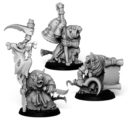 Punga Miniatures Plague Monk Command Group 1