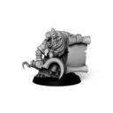 Punga Miniatures Plague Monk Command Group 3