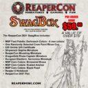 Reaper Miniatures ReaperCon 2021 SwagBox 1