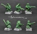 Scibor Dwarven Hunters Kneeling 3 Miniatures 01