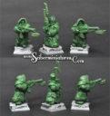 Scibor Dwarven Hunters Standing 3 Miniatures 01