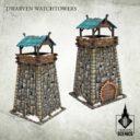Tabletop Scenics Dwarven Watchtowers 1