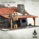 Tabletop Scenics Village Smithery 3