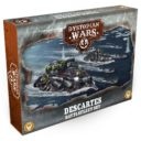 Warcradle Studios Descartes Battlefleet Set 1