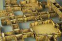 Lasercut Buildings Corridor System Preview 2