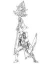 Spellcrow Woodelf Concept 01