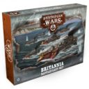 Warcradle Studios Britannia Battlefleet Set 1