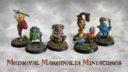 AM Medieval Marginalia Miniatures 1