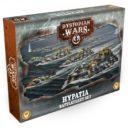Dystopian Wars Hypatia Battlefleet Set 1