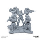 LD 75mm And 35mm Scale Talon Squad And Nora 7