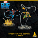 Marvel Crisis Protocol Spider Man Vs. Doctor Octopus 3