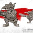 Tabletop Art Fantasy Football Goblins 3