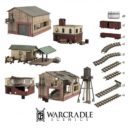 Warcradle Studios Warcradle Scenics Augusta Industrial Set 1