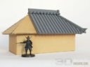 3D Alien Worlds Samurai Rooftile Panels 3
