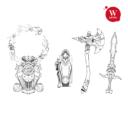 "Artel ""W"" Miniatures Neue Artworks 03"