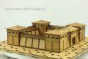 Lasercut Buildings Wooden Fort Modular System 15mm : 1 100 1