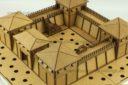 Lasercut Buildings Wooden Fort Modular System 15mm : 1 100 2