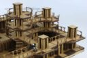 Lasercut Buildings Base II Modular System 1 56:28mm Scale 1