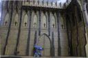 Lasercut Buildings Gothic Monastery Modular System 28mm : 1 56 1