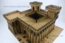Lasercut Buildings Gothic Monastery Modular System 28mm : 1 56 3