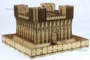 Lasercut Buildings Gothic Monastery Modular System 28mm : 1 56 7