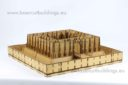 Lasercut Buildings Gothic Monastery Modular System 28mm : 1 56 9