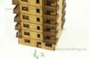 Lasercut Buildings Multi Family Block Scale 15:1 100, 20mm : 1 72 76, 28mm : 1 56 Unpainted Version 2