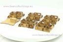 Lasercut Buildings Multi Family Block Scale 15:1 100, 20mm : 1 72 76, 28mm : 1 56 Unpainted Version 4