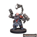 MG Mantic Deadzone Forge Fathers Artificers Artificer With Burst Pistol 1
