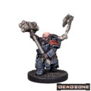 MG Mantic Deadzone Forge Fathers Artificers Artificer With Heat Hammer 1