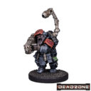 MG Mantic Deadzone Forge Fathers Artificers Artificer With Magma Rifle 1
