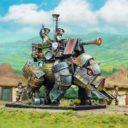 Mantic Halfling Iron Beast 1