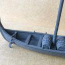 TabletopArt Viking Merchant Ship And Rowboat 3