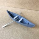 TabletopArt Viking Merchant Ship And Rowboat 4