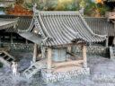 3D Alien Worlds Samurai Temple Bell 1