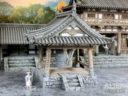 3D Alien Worlds Samurai Temple Bell 3