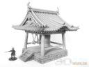 3D Alien Worlds Samurai Temple Bell 8