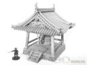 3D Alien Worlds Samurai Temple Bell 9