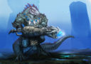 AntiMatterGames Draconid Deep Hunter Concept Art