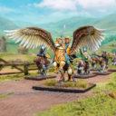MG Halfling General On Winged Aralez 1