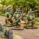 MG Halfling Troll Gunners