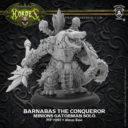 Privateer Press Barnabas The Conquerer Minions Gatorman Solo