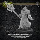 Privateer Press Hordes Krueger The Stormseer Circle Blackclad Solo
