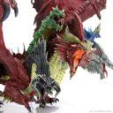 WK D&D Icons Of The Realms Miniatures Gargantuan Tiamat 5