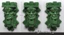 Aztec Dwarf Relief Magnet 01